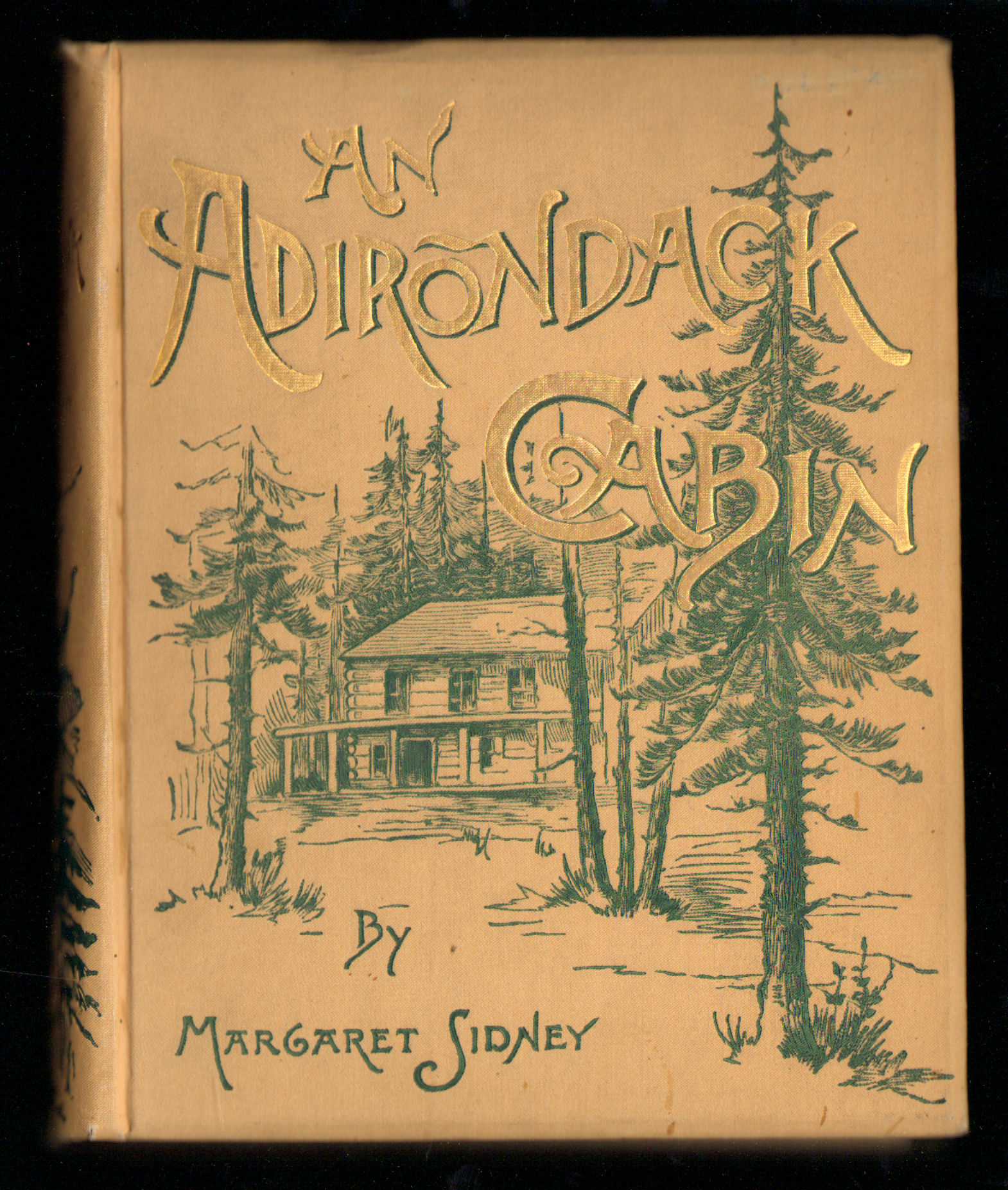 Image for An Adirondack Cabin. A Family Story Telling of Journeyings By Lake and Mountain and Idyllic Days in the Heart of the Wilderness