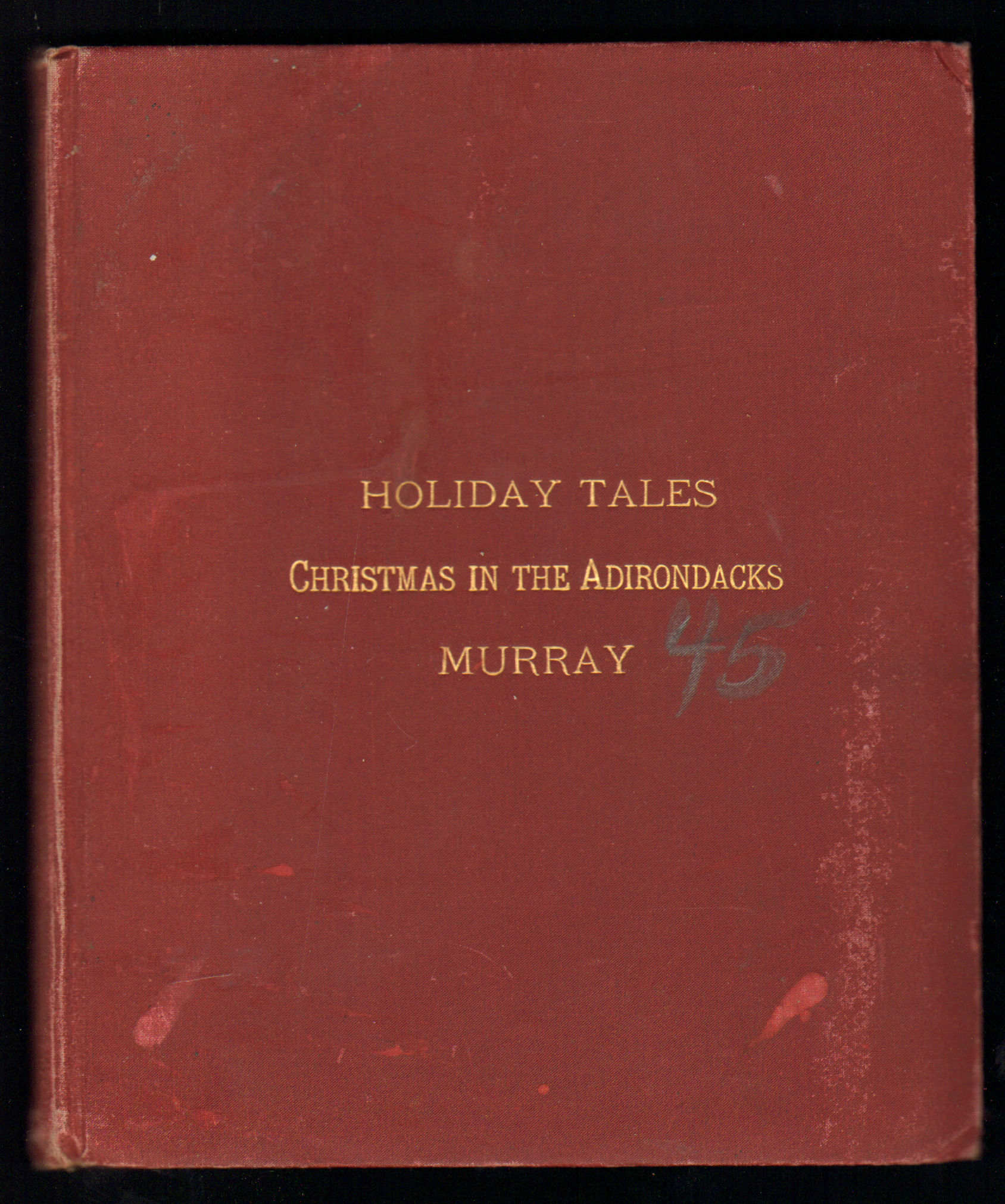 Image for Holiday Tales. Christmas in the Adirondacks