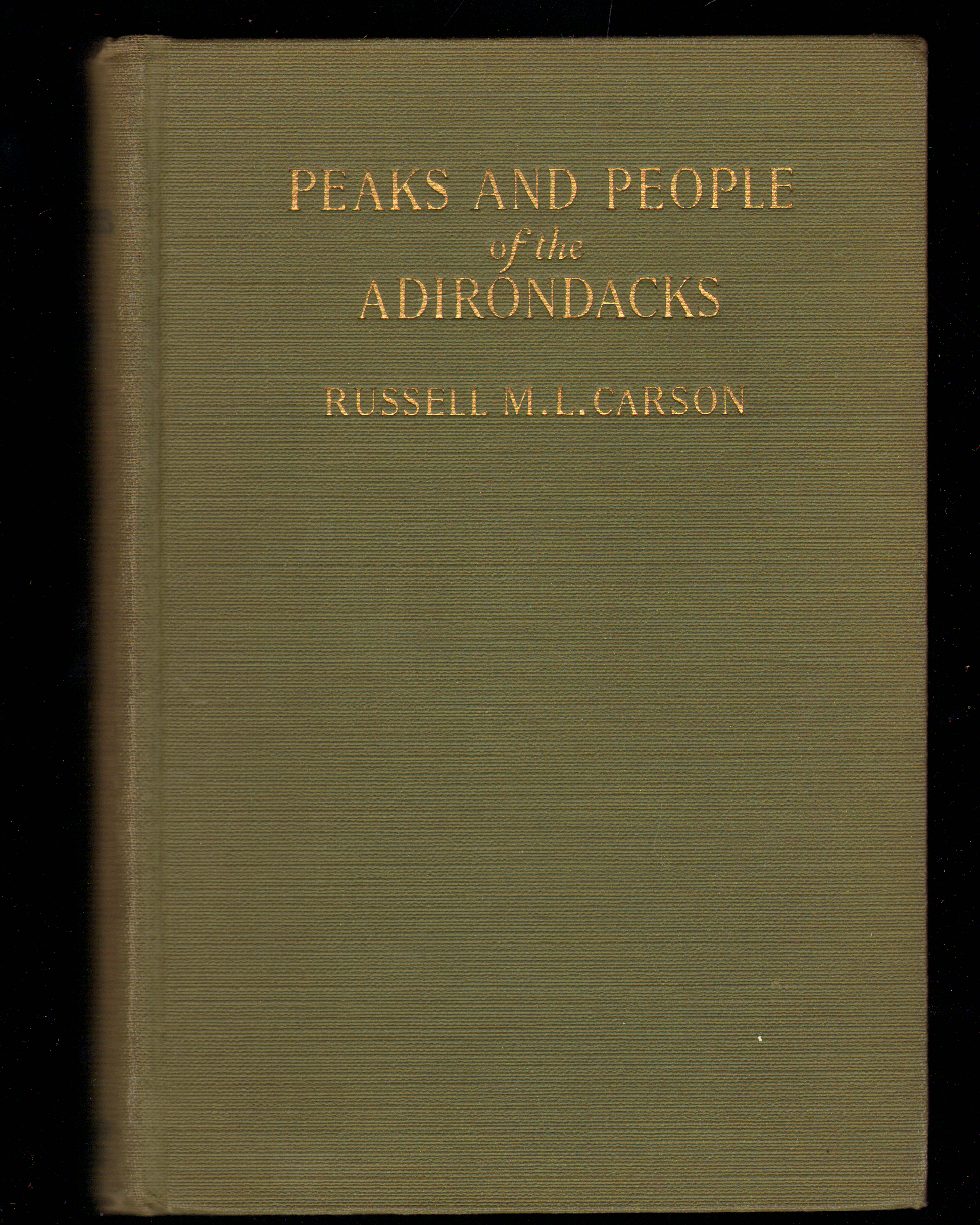 Image for Peaks and People of the Adirondacks