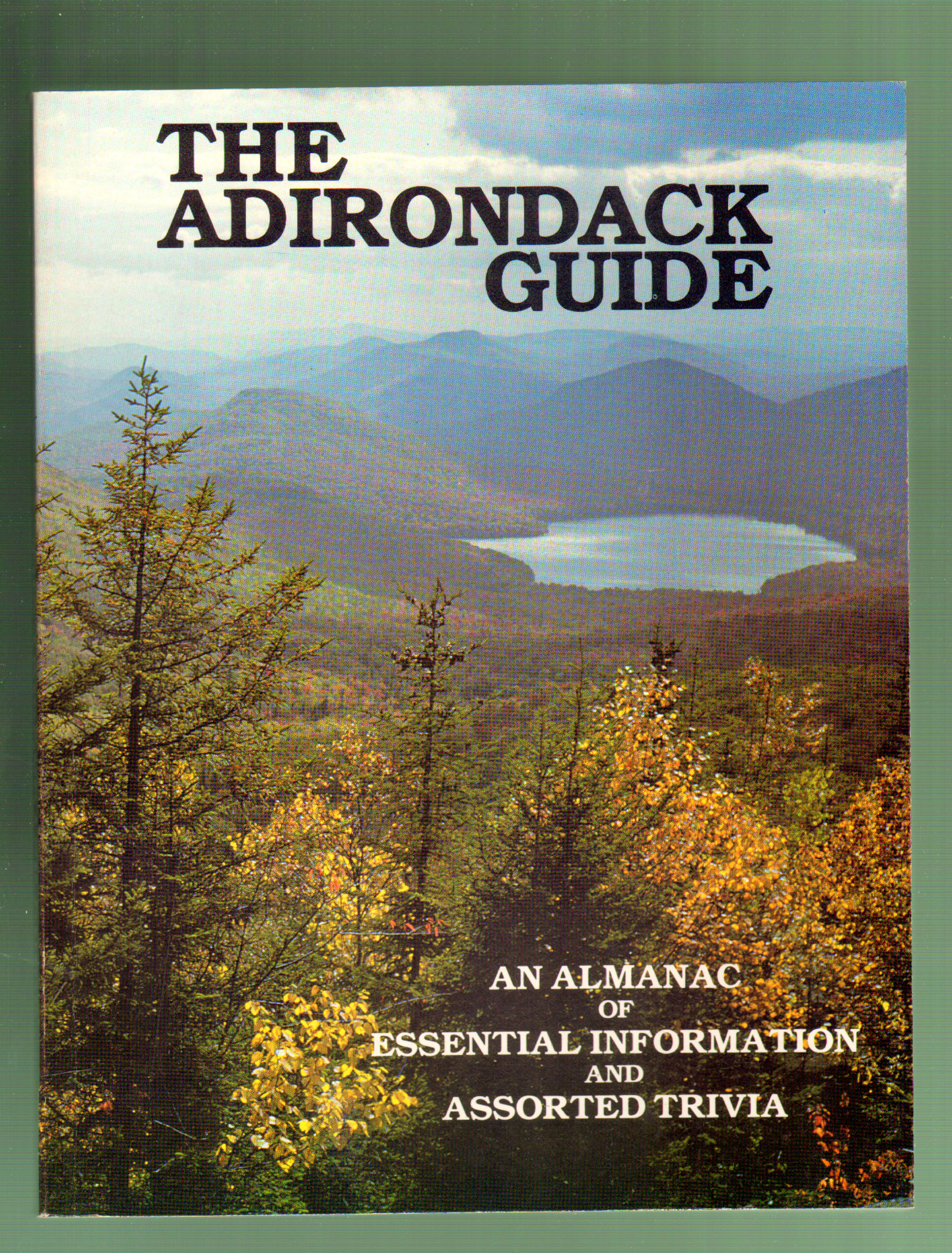 Image for The Adirondack Guide: An Almanac of Essential Information and Assorted Trivia